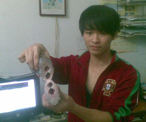 Hà Nội: Lại phát hiện cá có 2 khoang bụng - 3