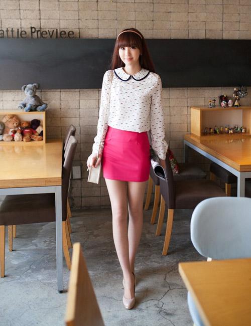 Chọn chân váy màu sắc cho nữ công sở trẻ - 14