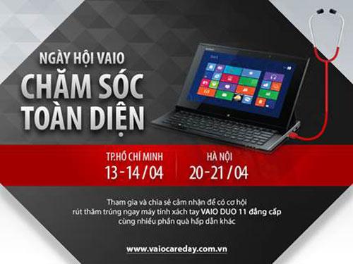 """Bảo trì laptop VAIO miễn phí tại """"Ngày hội VAIO Care Day"""" - 1"""