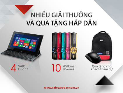 """Bảo trì laptop VAIO miễn phí tại """"Ngày hội VAIO Care Day"""" - 3"""