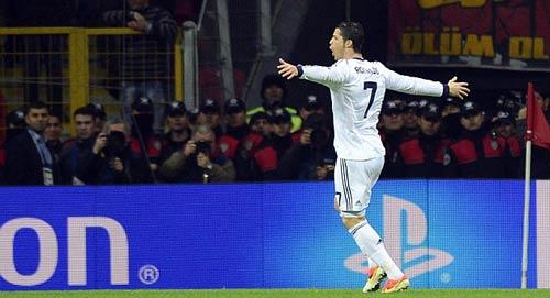 Champions League: Đất diễn của CR7 - 1