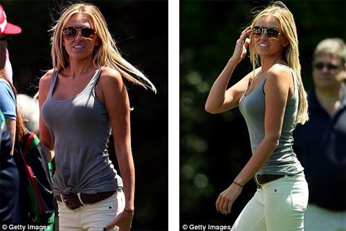 McIlroy khóa môi Wozniacki trên sân golf - 6