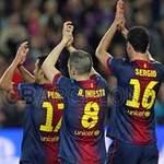 Bóng đá - Barca lập kì tích: Chiến công hiển hách