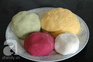Làm bánh chay sắc màu cho tết Hàn thực - 9