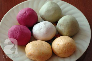 Làm bánh chay sắc màu cho tết Hàn thực - 10