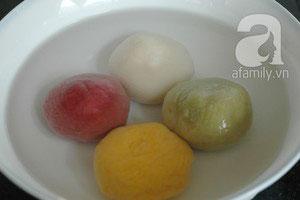 Làm bánh chay sắc màu cho tết Hàn thực - 12