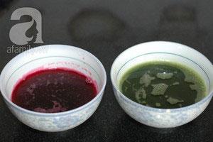 Làm bánh chay sắc màu cho tết Hàn thực - 5