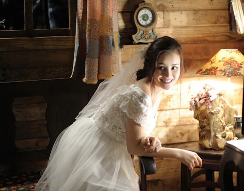 Vy Oanh lộng lẫy làm cô dâu - 7