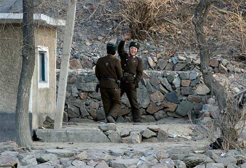 Ảnh hiếm về cuộc sống Triều Tiên bên sông - 9