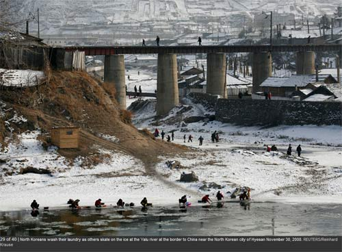 Ảnh hiếm về cuộc sống Triều Tiên bên sông - 12