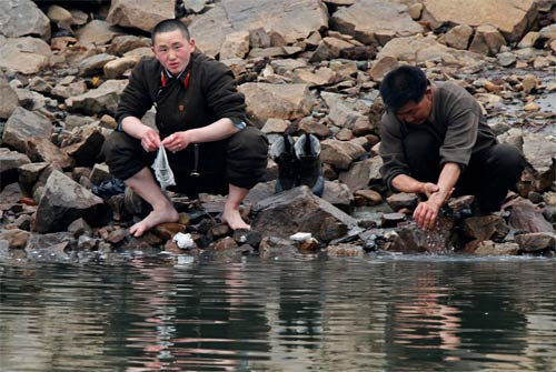 Ảnh hiếm về cuộc sống Triều Tiên bên sông - 2