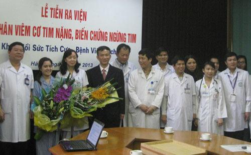 HN: Cứu sống bệnh nhân ngừng tim - 2
