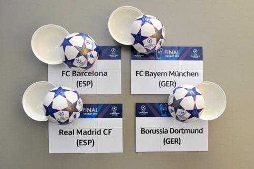 BK C1: Bayern - Barca, Dortmund - Real - 3