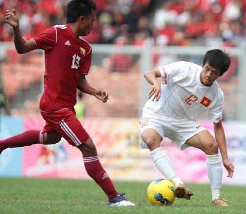 U23 Việt Nam đá giao hữu với U23 Myanmar - 1