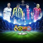 Bóng đá - BK C1: Bayern - Barca, Dortmund - Real