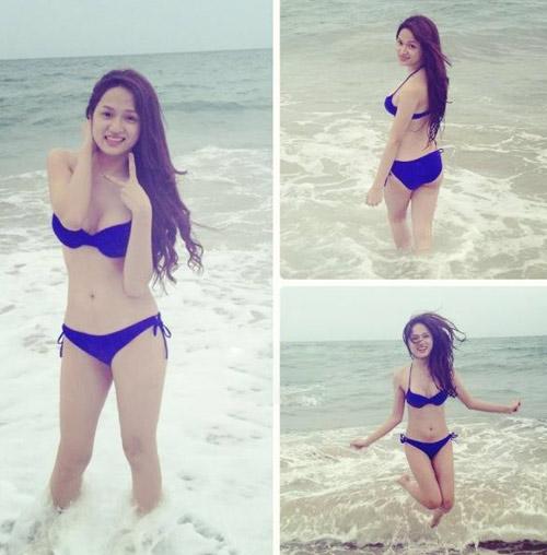 Hương Giang Idol gợi cảm với bikini - 1