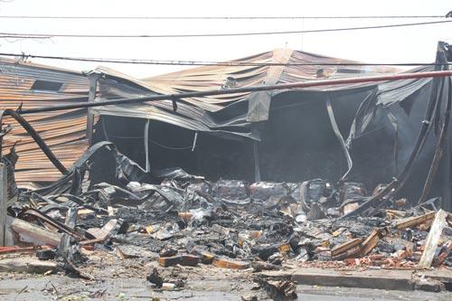 Công bố thiệt hại vụ cháy tổng kho Sacombank - 4