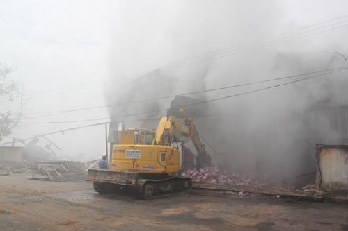 Công bố thiệt hại vụ cháy tổng kho Sacombank - 2