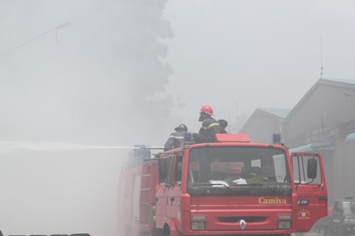 Công bố thiệt hại vụ cháy tổng kho Sacombank - 3
