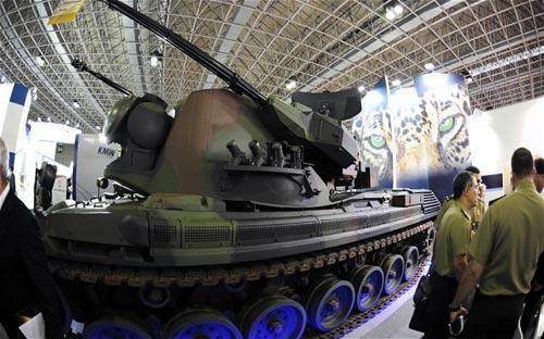 Brazil mua 34 xe tăng Đức bảo vệ World Cup - 1