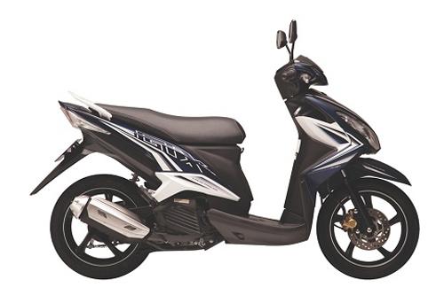 Yamaha tung xe ga Luvias GTX Fi - 1