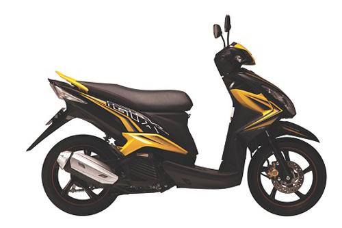 Yamaha tung xe ga Luvias GTX Fi - 2