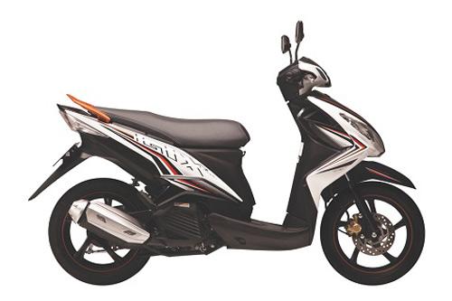 Yamaha tung xe ga Luvias GTX Fi - 3