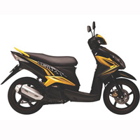 Yamaha tung xe ga Luvias GTX Fi