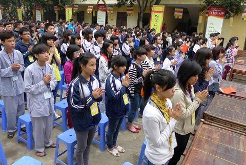 Học sinh đến chùa... hỏi thi đại học - 1