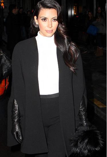 Đỏm dáng như bà bầu Kim Kardashian - 3