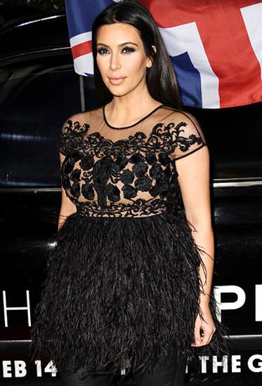 Đỏm dáng như bà bầu Kim Kardashian - 6