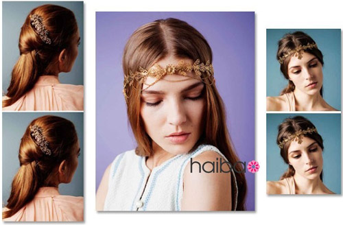 Phụ kiện đẹp xinh tô điểm cho mái tóc - 15