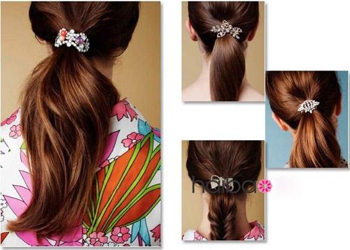 Phụ kiện đẹp xinh tô điểm cho mái tóc - 6