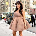 Thời trang - Đỏm dáng như bà bầu Kim Kardashian
