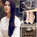 """Thời trang - Lục tủ """"soi"""" đồ đẹp của siêu mẫu Thái Hà"""