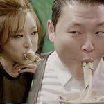 Bùng nổ các clip nhại  em trai Gangnam Style
