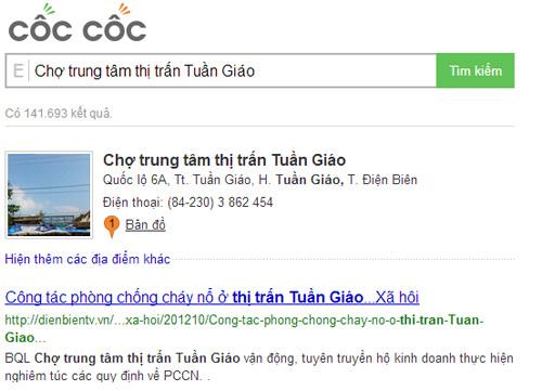 Tính năng địa điểm của Cốc Cốc & ông lớn Google - 5