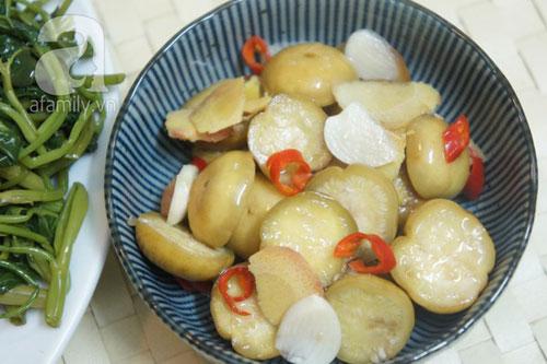 Cách làm cà muối xổi giòn ngon - 14