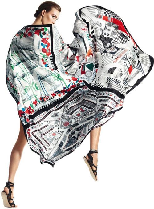 Đi biển thêm quyến rũ cùng khăn lụa - 3
