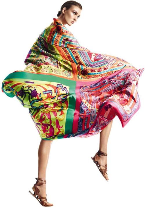 Đi biển thêm quyến rũ cùng khăn lụa - 6