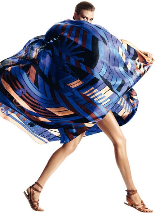 Đi biển thêm quyến rũ cùng khăn lụa - 8