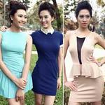 Thời trang - Những mẫu váy tôn vinh nữ công sở