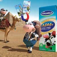 Du lịch vòng quanh thế giới cùng các bạn bò Vinamilk