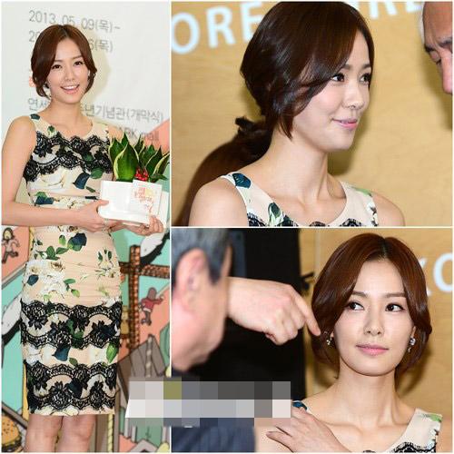 Sao Hàn phô diễn thềm ngực sexy tuổi 44 - 8