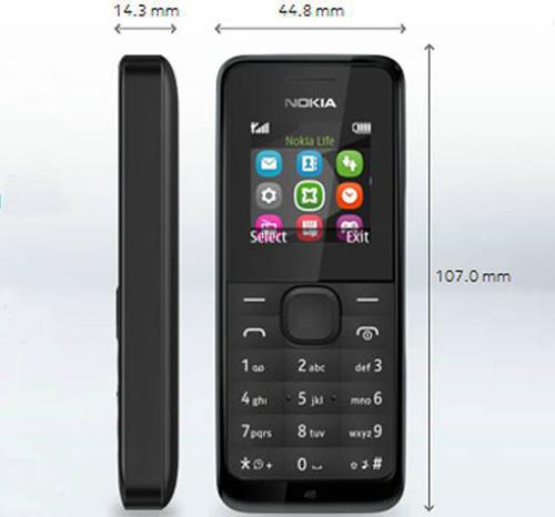 Nokia 105: nồi đồng cối đá, giá rẻ - 5