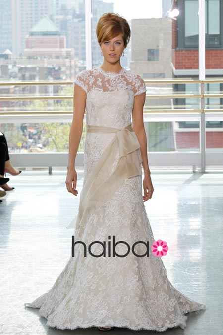 Váy cưới ren đem nét duyên cho nàng dâu - 1