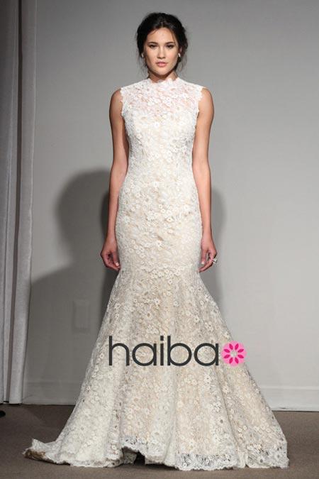 Váy cưới ren đem nét duyên cho nàng dâu - 4