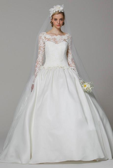 Váy cưới ren đem nét duyên cho nàng dâu - 9