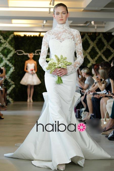 Váy cưới ren đem nét duyên cho nàng dâu - 13