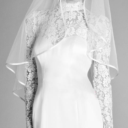Váy cưới ren đem nét duyên cho nàng dâu - 16